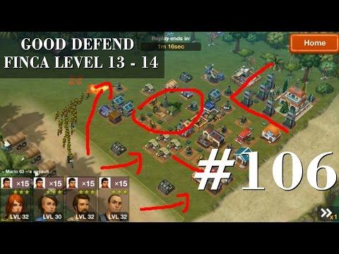 Narcos: Cartel Wars - Gameplay 106 GOOD DEFEND FINCA LEVEL 13 - 14