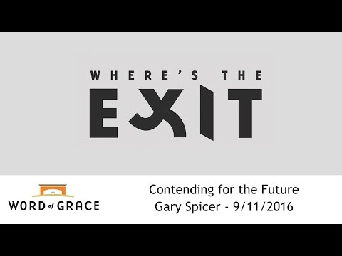 Where's the Exit: Gary Spicer