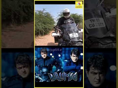 Thala AjithKumar Offroad Riding || Latest video || Valimai || #Shorts