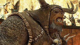 Shadow of War - HIGH Level Gigant Boss vs Boss Pit Fights of CHAMPIONS