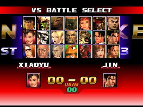Unlock All Characters In Tekken 3 Just In 20 Seconds Youtube