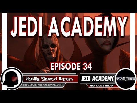 SWGOH Jedi Academy Episode 34 Live Q&A | Star Wars: Galaxy of Heroes #swgoh