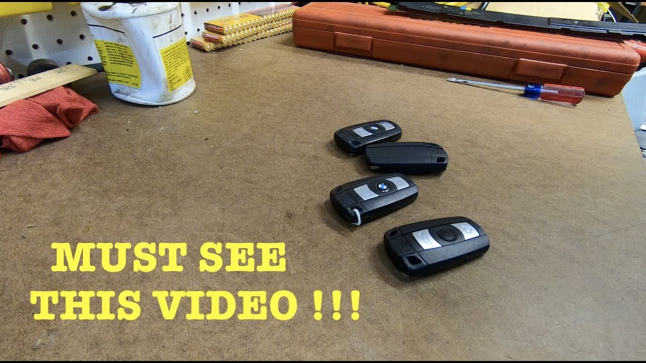 Bmw E60 E90 Key Stop Working Here Is How You Fix It Youtube