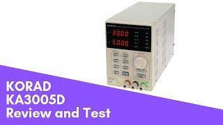 Korad KA3005D review and test  Лабораторний блок живлення, огляд і тест