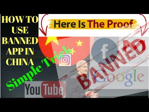 How To Use Google Youtube Facebook In China | With Proof | Simple Trick Whatsapp Google Play Vpn