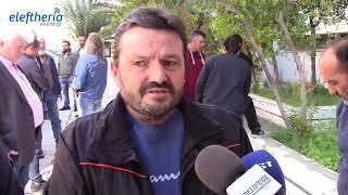 Μεσσηνία: Διαμαρτυρία αγροτών στο Διοικητήριο