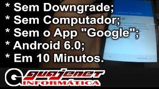 Desbloqueio conta do Google Moto G3 e G4 Android 6.0 (Bypass) - Sem o App Google