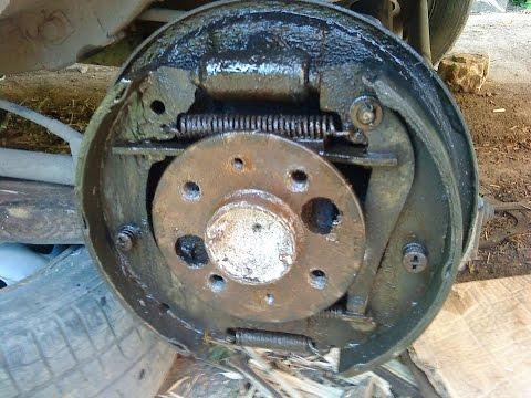 Как Заменить задний тормозной цилиндр ВАЗ 2115 ,2114,2113,2199,2109,2108