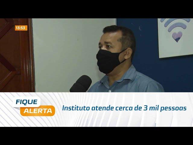 Quem Ama Cuida: Instituto atende cerca de 3 mil pessoas