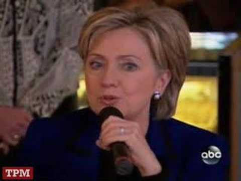 Hillary Clinton Tears Up During Campaign Stop