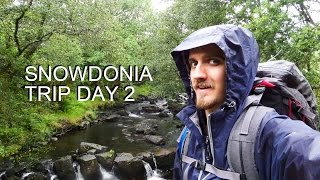 """Snowdonia Solo Trip Day 2 """"getting Rather Wet"""""""