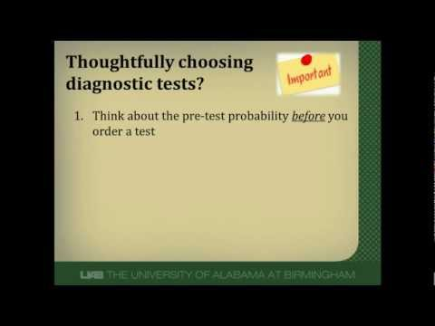 How to Choose a Diagnostic Test