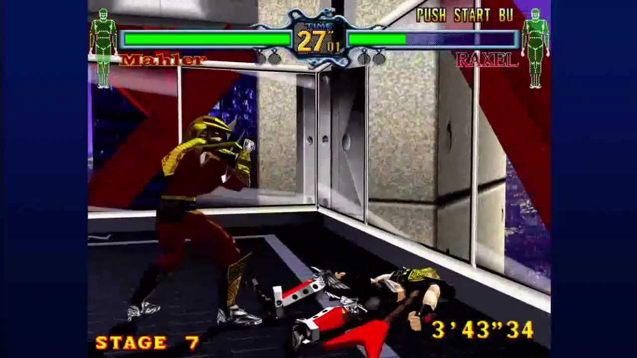 Fighting Vipers Xbox 360 Arcade As Mahler Youtube