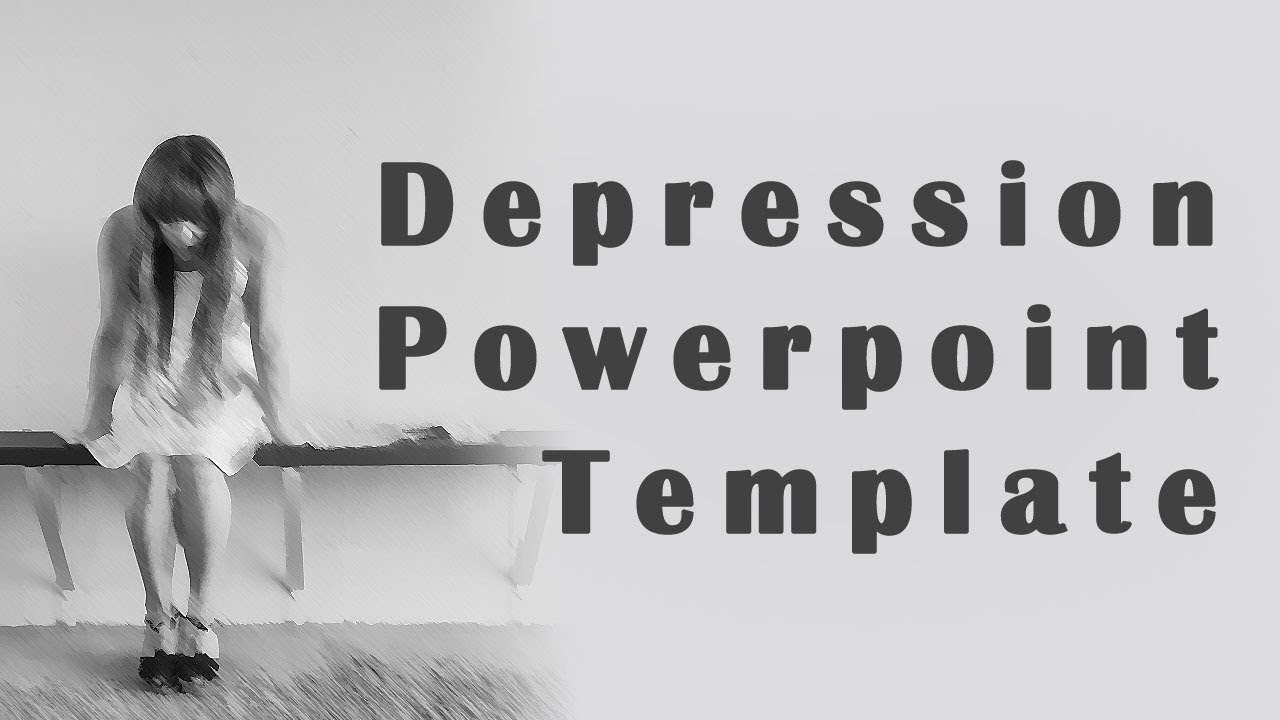 the great depression powerpoint template youtube