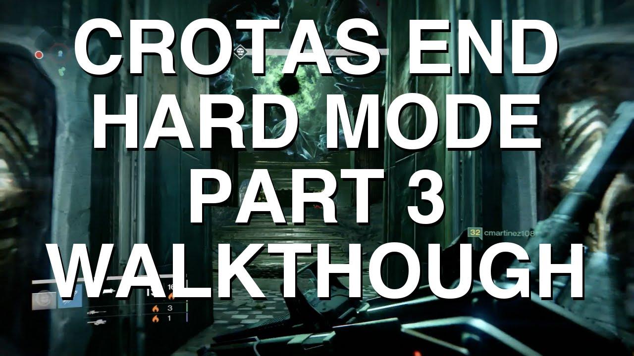 Destiny Dance Gif: (DEATHSINGER CHEESE) CROTAS END HARD MODE PART 3