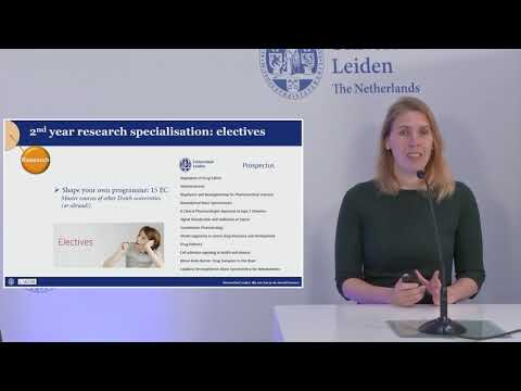 General Programme Presentation Bio-Pharmaceutical Sciences (MSc)