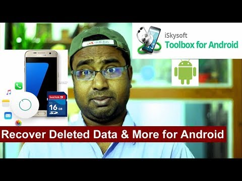 Best Data Recovery Software For Android Devices | Iskysoft Toolbox For Android