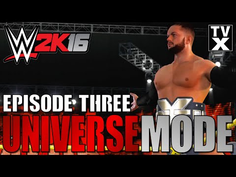 Let's Play - WWE 2K16 Universe Mode Ep.3 [WWE 2K16 Gameplay Commentary]