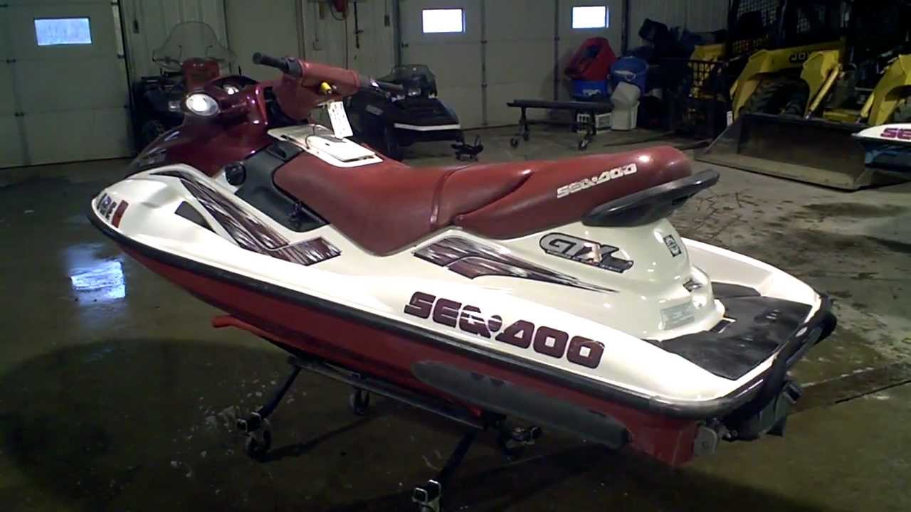 1998 Sea Doo GTX Limited 951 Carb 130 Hours LOT 1091A