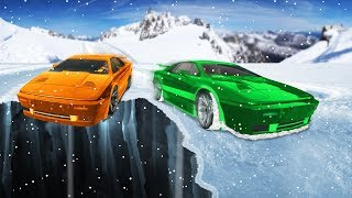 IMPOSSIBLE OFFROAD SNOW RACE! (GTA 5 Funny Moments)