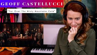 """Download Geoff Castellucci """"Far Over The Misty Mountains Cold"""" REACTION & ANALYSIS by Vocal Coach"""