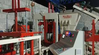 CONCRETE BLOCK MAKING MACHINE FAM-2160 , Hardic Machine in India