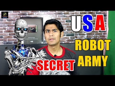 Robot Army Vs Humans | America Making Robot Army For Battlefield