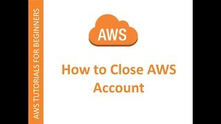 How to close aฑ AWS account