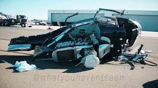 Video Crash of Airbus AS350 Helicopter at Palomar Airport (November, 2015) download MP3, 3GP, MP4, WEBM, AVI, FLV Oktober 2018