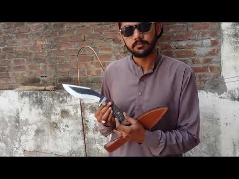 Bushcraft Handmade 1095 Steel Blade Survival Camp Kukri Knife by AG Cutlery Company