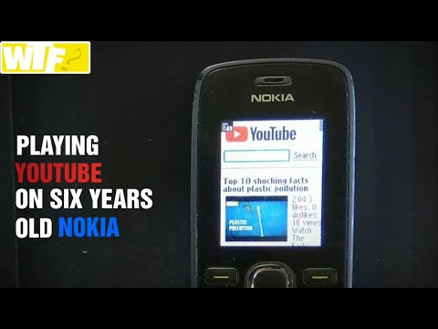 Playing YouTube on six years old Nokia