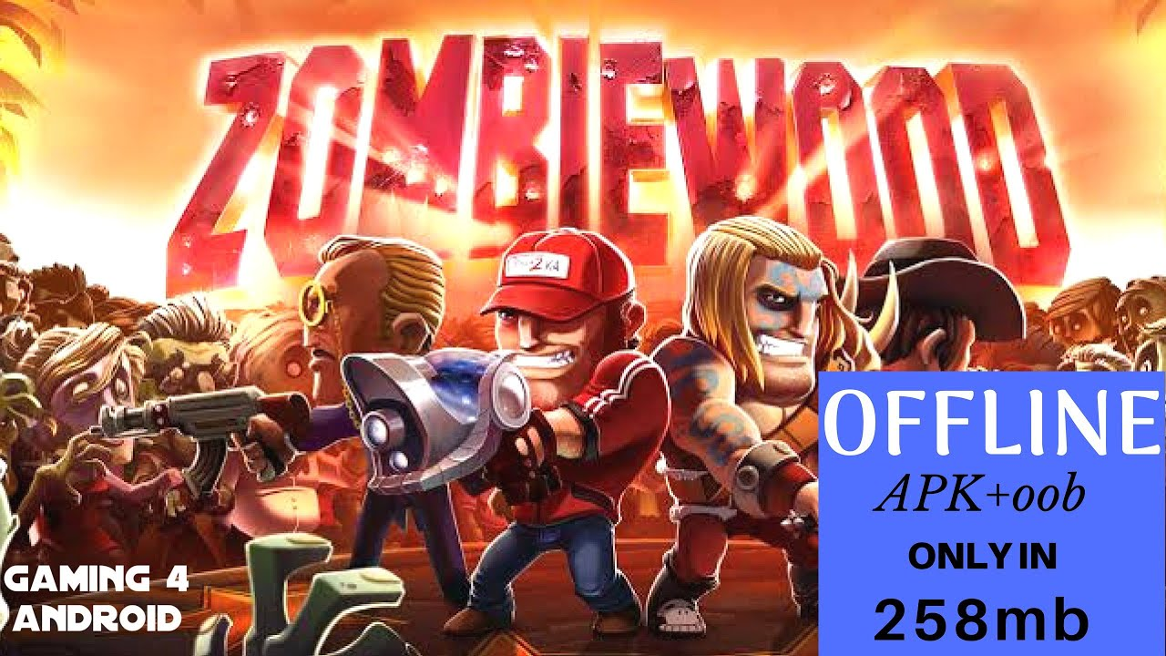 How to download zombiewood mod apk+obb  #Smartphone #Android