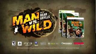 Man vs wild - PS3 - Trailer de Lanzamiento