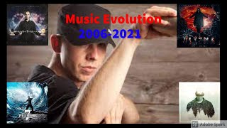Cr7z Music Evolution (2006-2021) (1 song per year)