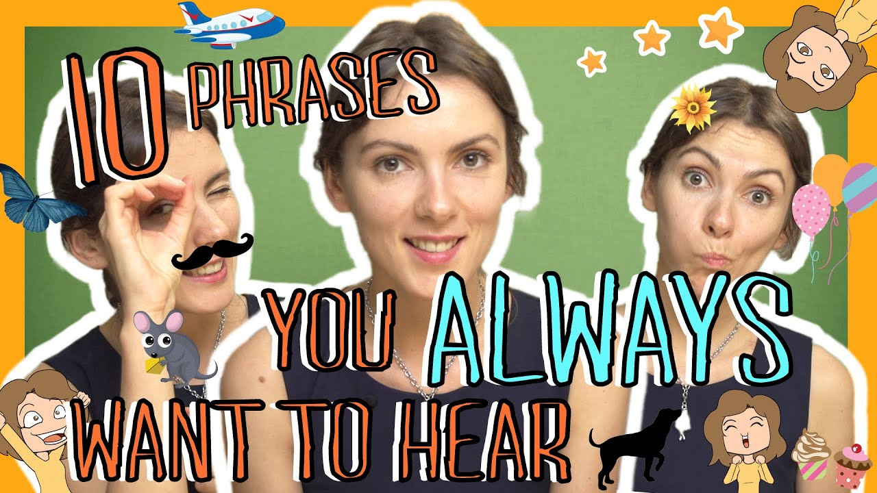 Learn the Top 10 Russian Phrases You Always Want to Hear - YouTube 1aa372504