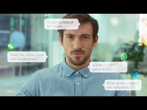 CM Customer Contact via messaging apps