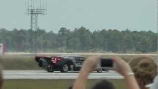 Jet Car vs. Plane at Punta Gorda Air Show