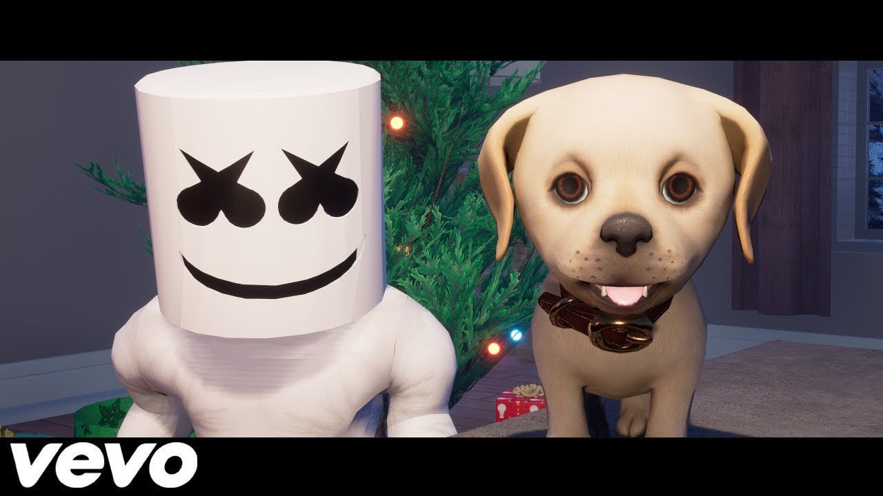 Roblox Music Video Together Marshmello Youtube