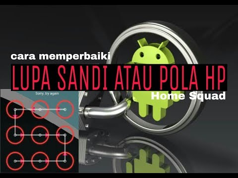 Solusi Lupa pola advan S4T Tanpa instal Ulang.