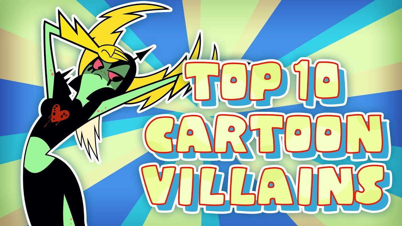 Top 10 BEST Cartoon Villains - YouTube