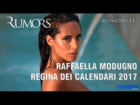 Raffaella Calendario.Raffaella Modugno Sexy Protagonista Del Calendario Di For Men Magazine