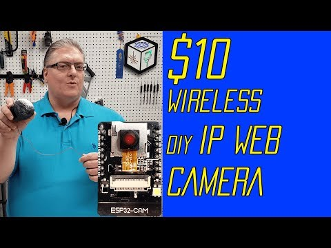$10 DIY Wireless IP Security Camera for 3D Printers & Home