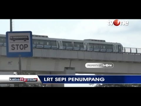 LRT Sepi Penumpang Pasca-perhelatan Asian Games di Palembang, Sumsel