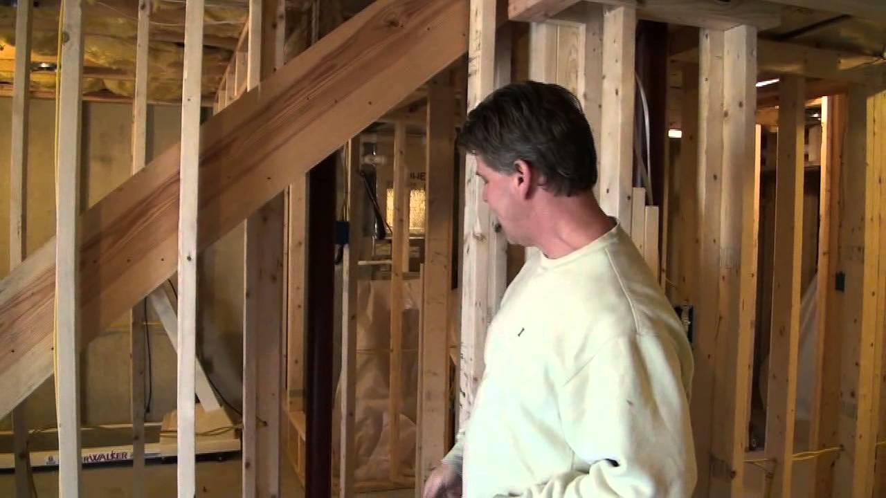 Closet Under The Basement Stairs Idea Youtube