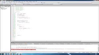 C Programming Tutorial - 41 - Sorting Arrays