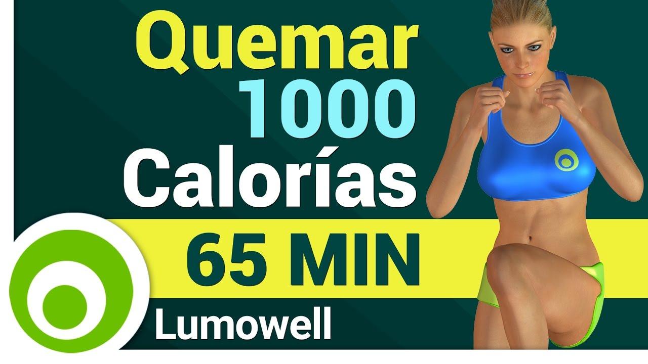 como quemar 1000 calorias por dia