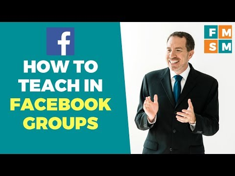 How To Teach In Facebook Groups