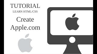 Learn HTML/CSS By Creating Apple's Homepage