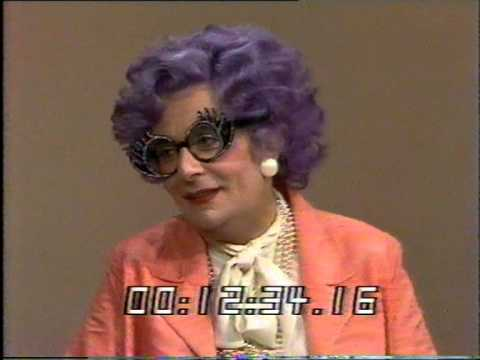 Dame Edna Everage - Afternoon Plus - Thames Television