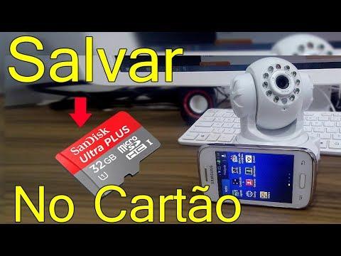 Como Salvar Vídeos da Câmera IP HD no Cartão de Memória SD L